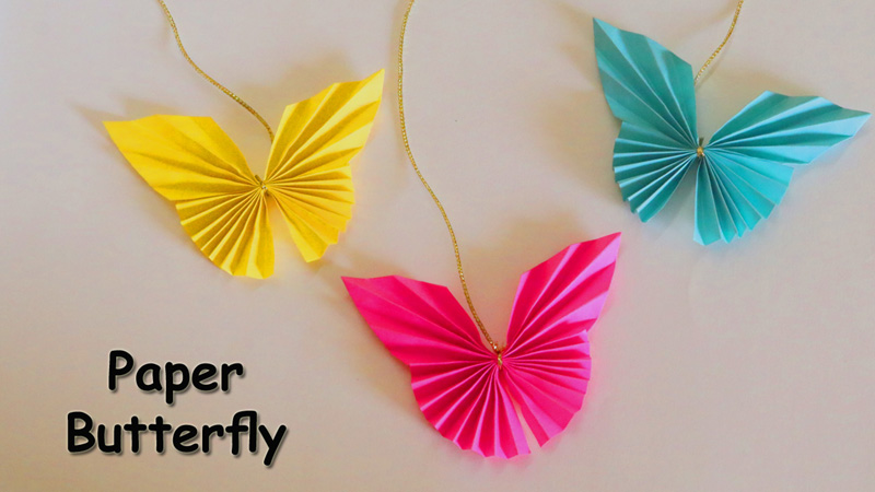 HOW TO MAKE AN EASY ORIGAMI BUTTERFLY. — Gathering Beauty | 450x800