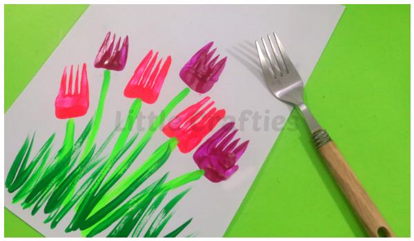10 Easy Painting Ideas For Kids Vegetable Finger
